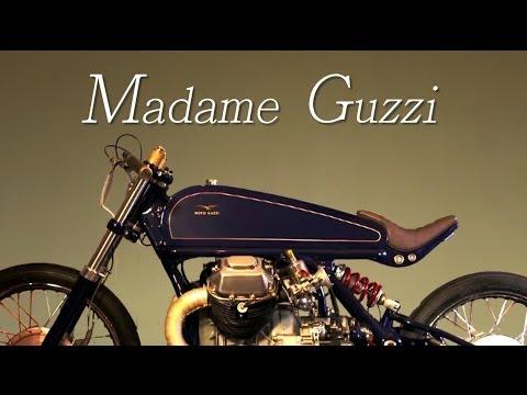 Not a Cafe Racer (Moto Guzzi by Adam Nestor)
