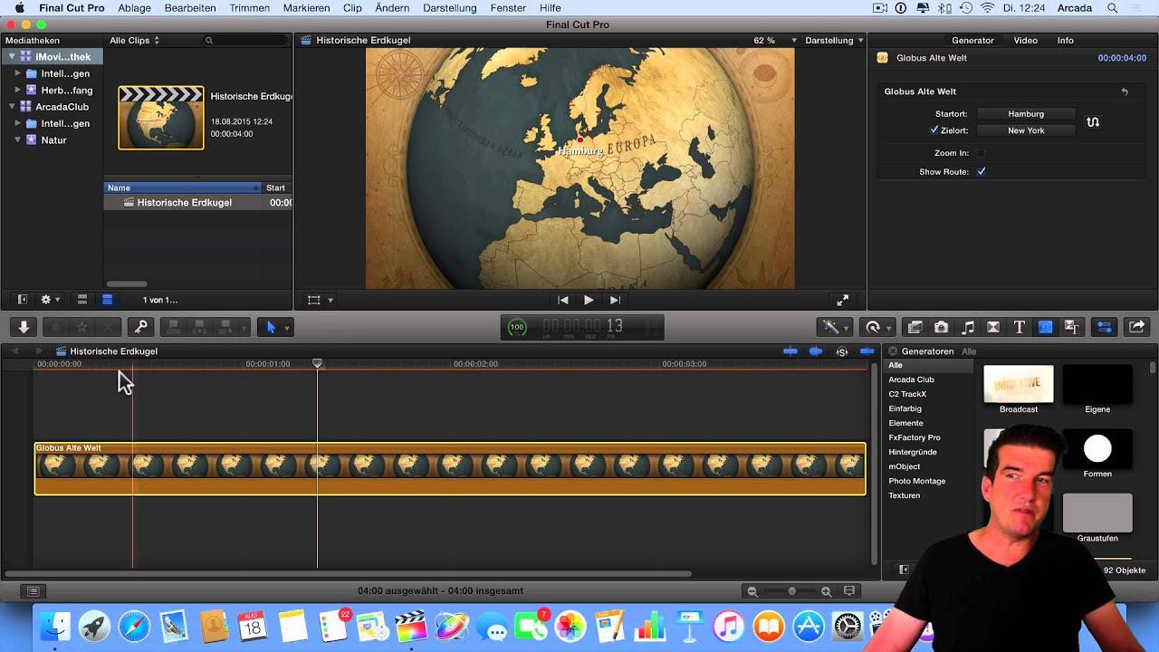 29) iMovie Vorlagen in Final Cut Pro importieren - YouTube