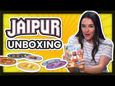 Jaipur Unboxing - How many tokens?!