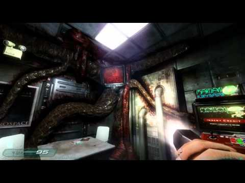 Doom 3: RoE Walkthrough Part 8 HD - Phobos Labs - Sector 2: Molecular Research