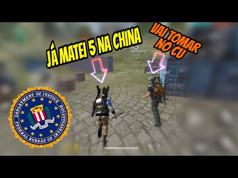 FREE FIRE - Fingindo Ser do FBI ( Trolagem )