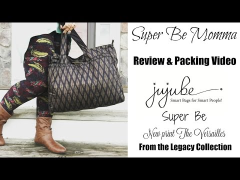 Ju-Ju-Be REVIEW & PACKING VIDEO The Versailles!