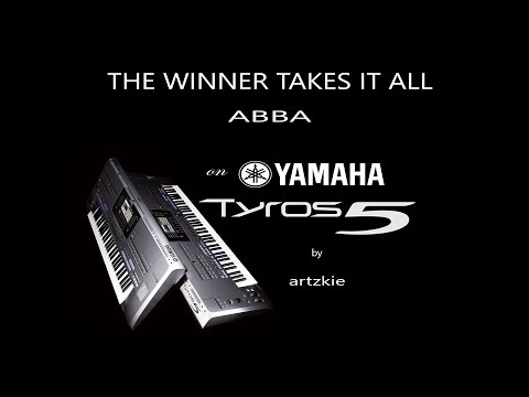 The Winner Takes It All by ABBA with lyrics on Yamaha Tyros 5