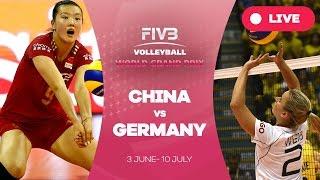 China v Germany - Group 1: 2016 FIVB Volleyball World Grand Prix