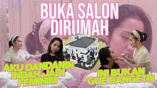 Download Mp3 Buka Salon Dirumah!!! Dandanin Indah Ala Prilly!!! | Diary Prilly