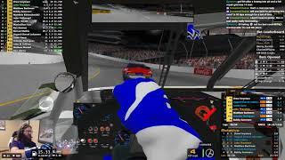 NASCAR iRacing National Series at Richmond 2/17/2018 Race 2