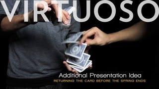 Card Flourishes - Virt TV #1: The Ninja Spring Grab