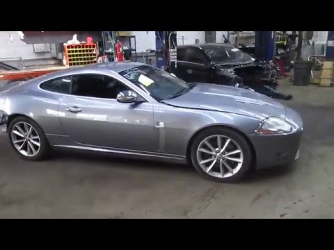 2007 Jaguar XKR 4.2L Parts Vehicle Driving Lot Test (160501)