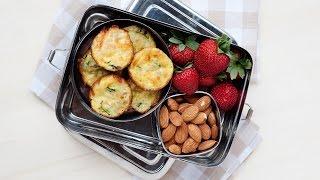 Healthy Lunch Idea: Carrot & Zucchini Mini Quiches