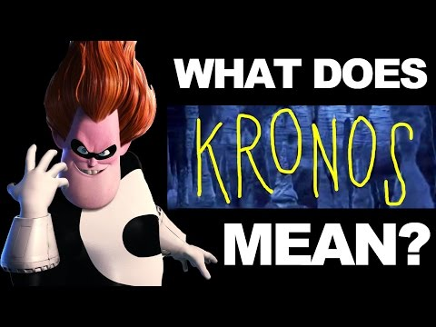 What Does KRONOS Mean?