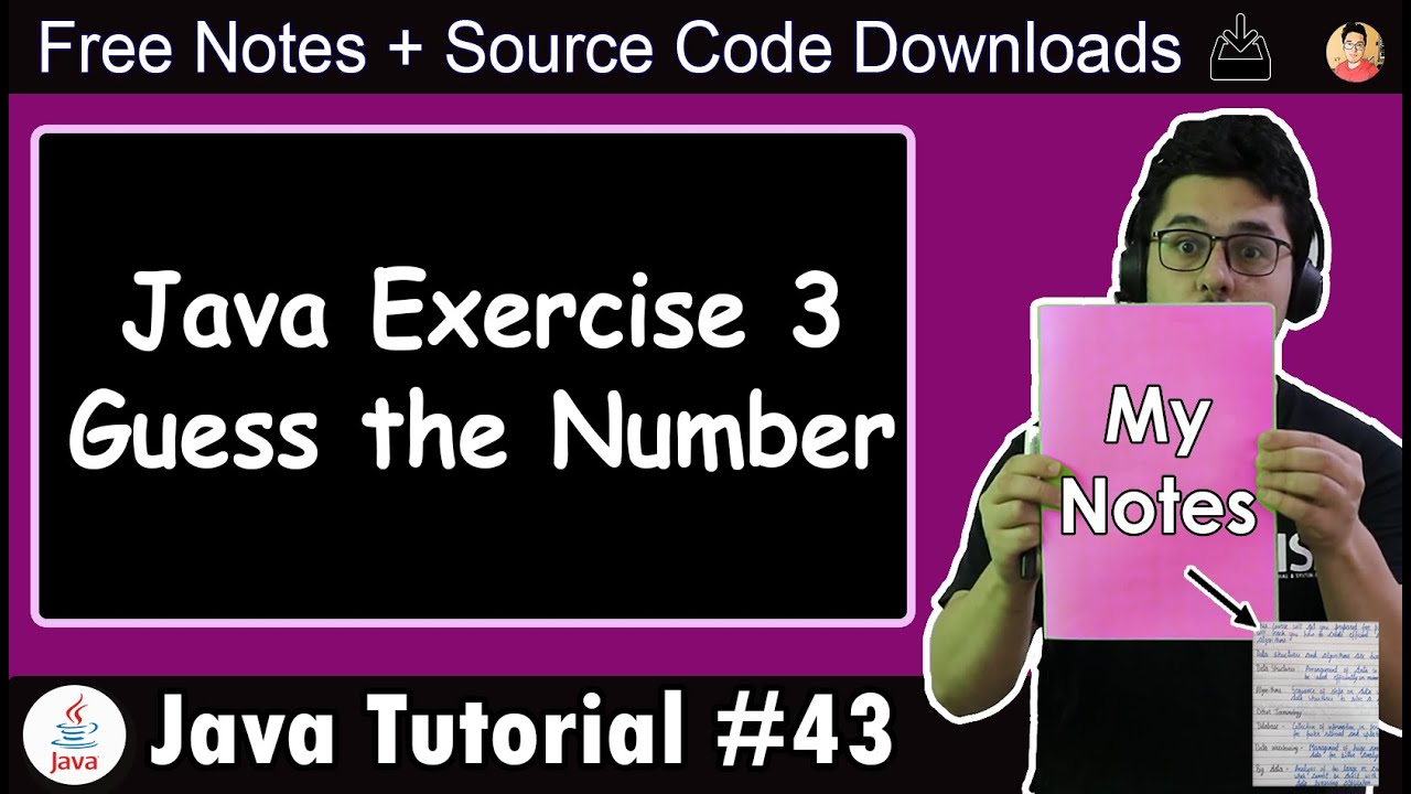 Java Exercise: Guess the Number (OOPs Edition)