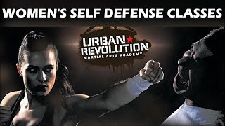WOMEN'S SELF DEFENSE CLASSES | Urban Revolution | Charlotte NC