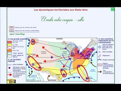 Carte Usa Bresil Bac.Croquis Usa Sdlv