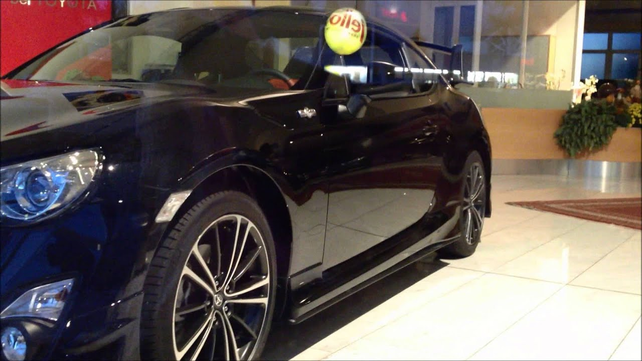 update toyota gt86 black with aero kit youtube. Black Bedroom Furniture Sets. Home Design Ideas