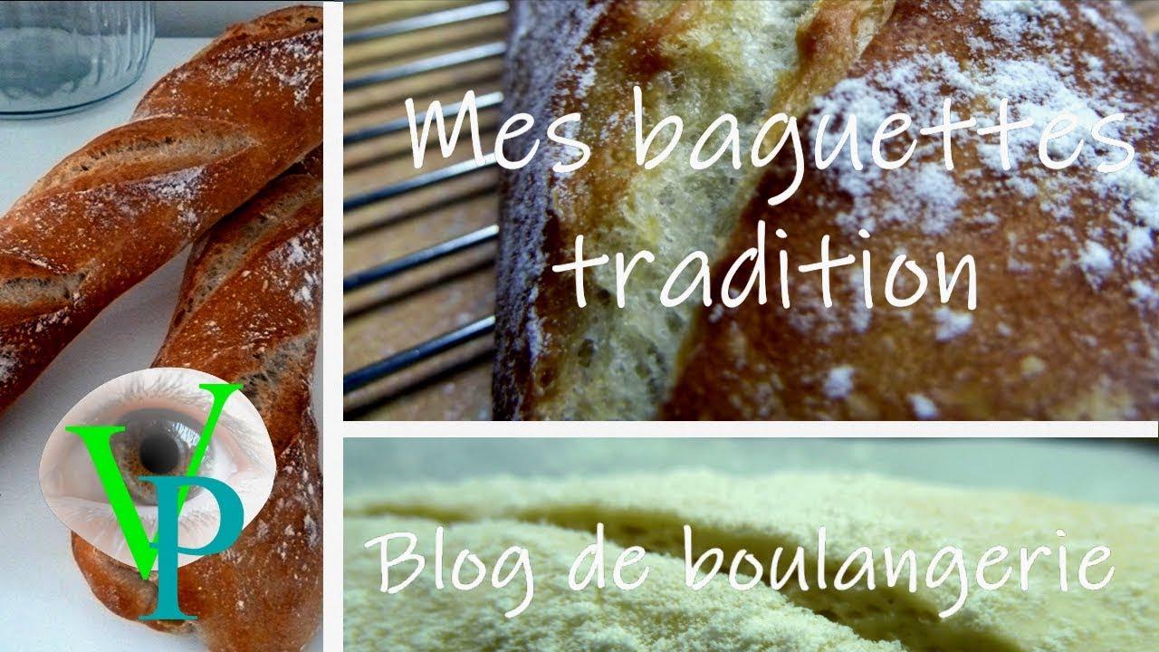 La confection de mes premières baguettes tradition
