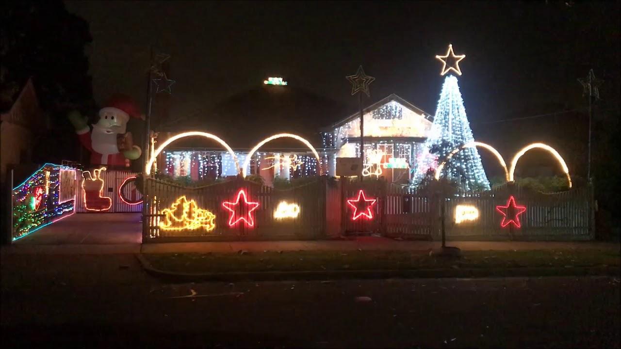 christmas lights melbourne
