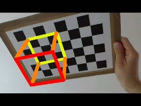 Camera calibration - chessboard pattern pose detection