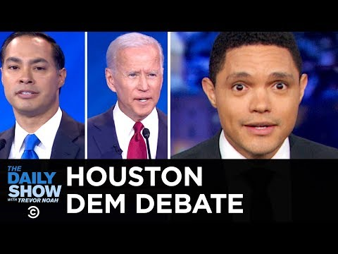 2020 Democratic Debate in Houston | The Daily Show