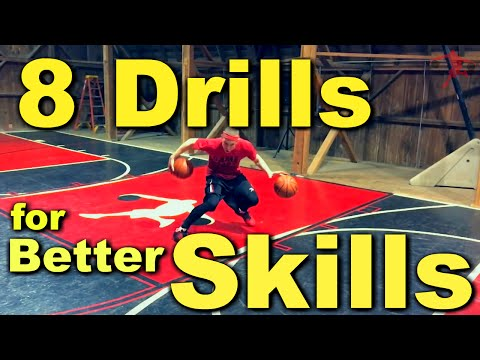 8 Drills for Better Basketball Skills | Dribbling Drills and Shooting Drills