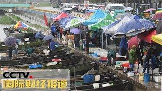 [国际财经报道]热点扫描 浙江:太湖开捕 风雨中迎来第一网| CCTV财经