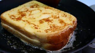 해장 토스트~! 크림치즈 프렌치 토스트  /  Crea…
