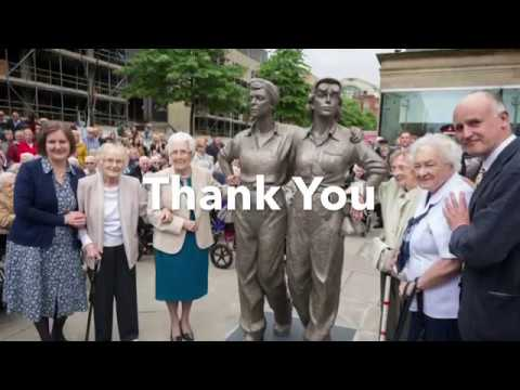 Women of Steel statue unveiling in Sheffield