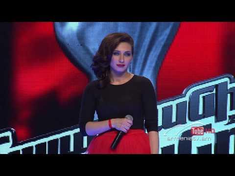 Elena Ilanjyan,Je Taime by Lara Fabian -- The Voice of Armenia – The Blind Auditions – Season 3