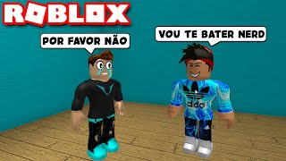 THE SAD STORY OF THE NERD WHO SUFFERED BULLYING IN SCHOOL!! -ROBLOX