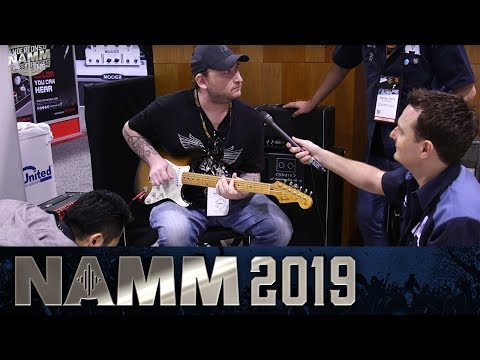 New Vemuram Tubescreamer with Josh Smith at Namm 2019