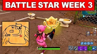 week 3 battle star on top of the hill...