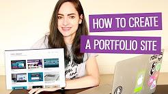How to make a design portfolio website   CharliMarieTV