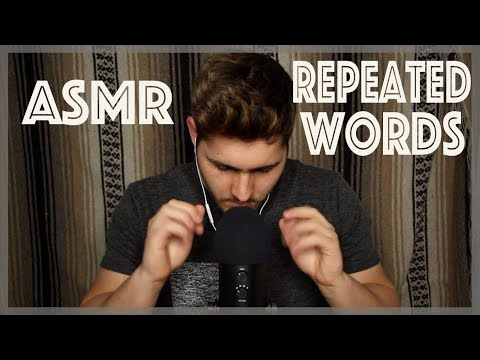 ASMR Repeated Trigger Words and Phrases (Ear-to-Ear, Whispers, Mouth Sounds)