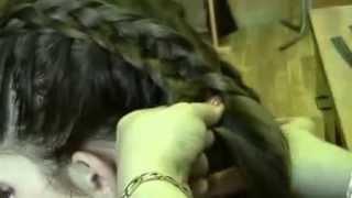 Зачіска на основі плетіння