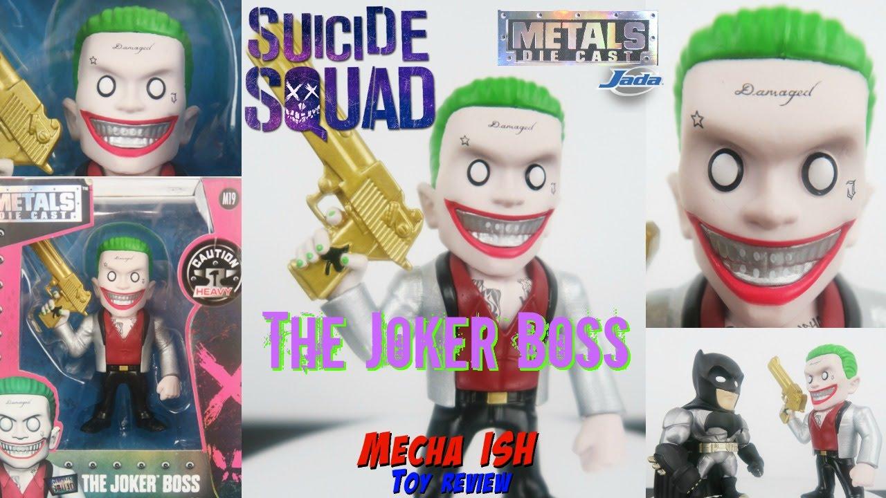 """Suicide Squad Joker 4/"""" Metals Wave 1 Figure NEW Jada Toys"""