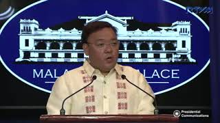 Roque finds Drilon's no barangay polls scenario 'strange', 'speculative'