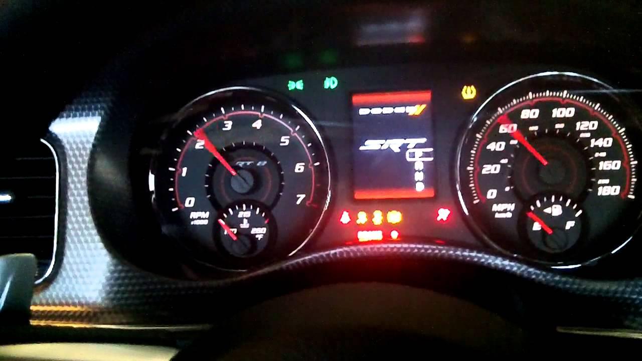 Dodge Demon Dashboard >> 2013 Dodge Charger SRT-8 Dash View, Instrument Cluster, & Start Up - YouTube