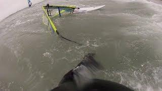 Windsurf crash
