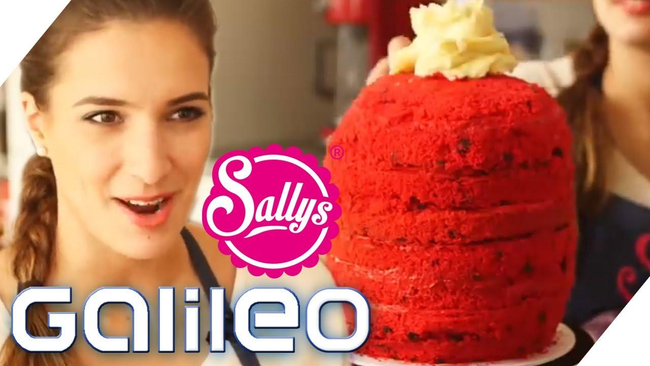 Die WassermelonenTorte mit Sallys Tortenwelt  Galileo