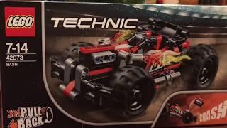 LEGO Technic 42073 ВЗРЫВ!!! Красный гоночный автомобиль! НОВИНКА 2018