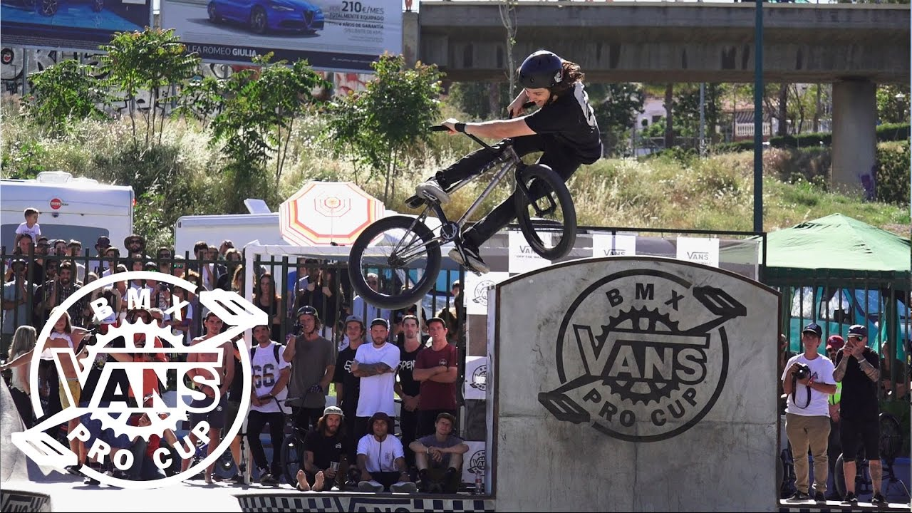 7fc50796b4 2017 Vans BMX Pro Cup Series  Corey Walsh - 2nd Place Run in Spain ...