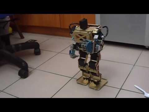 Arduino Humanoid Robot With Robotic Palms (帶可控手掌之Arduino人形機器人)
