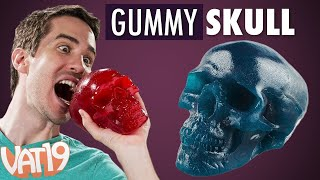 World's Largest Gummy Skull