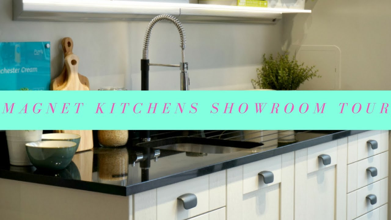 Magnet Kitchens Showroom Tour - YouTube