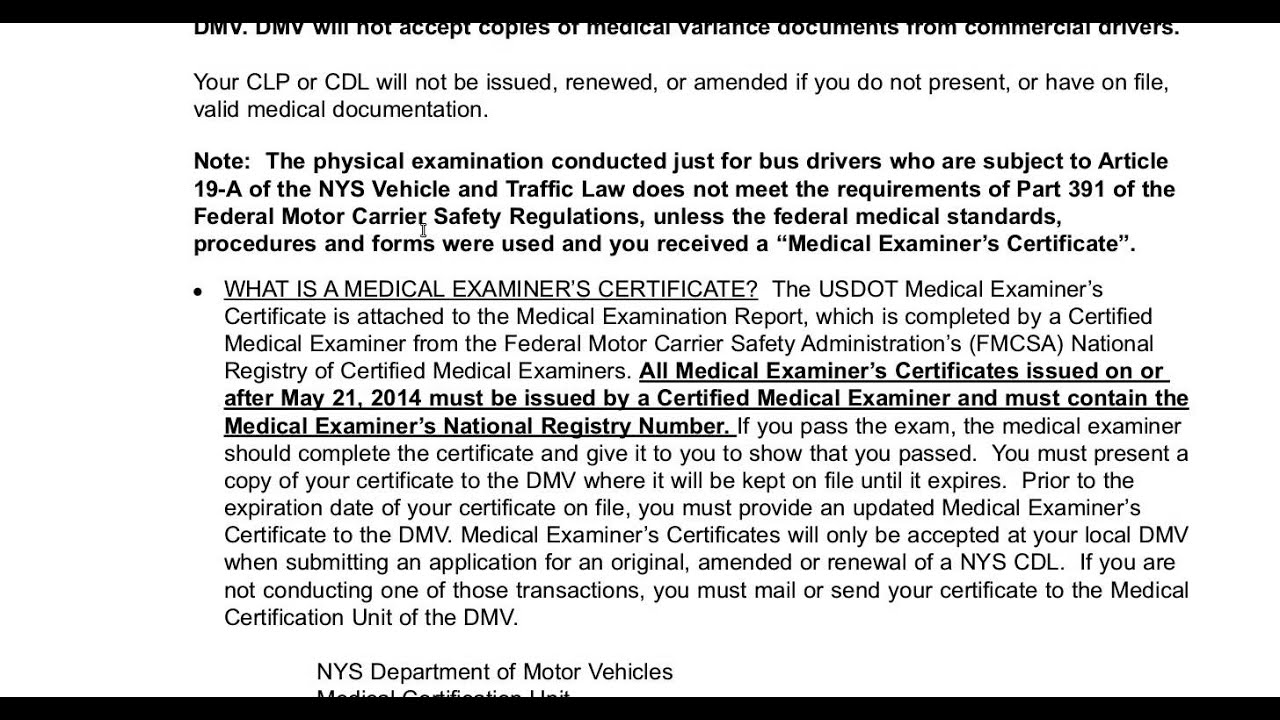 Details about new york state commercial driver's manual class a,b.