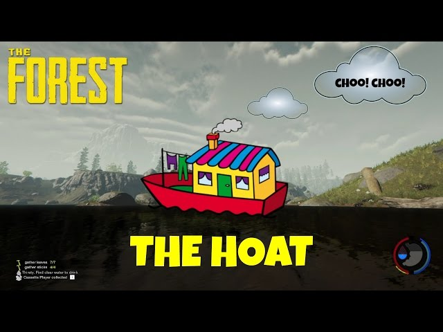HOUSE BOAT! - The Forest - Ep.4