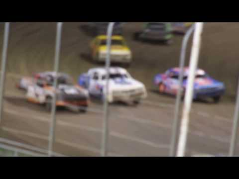 MVI 6195   I 80 SPEEDWAY 4/21/2017  STOCK CAR FEATURE PART #4