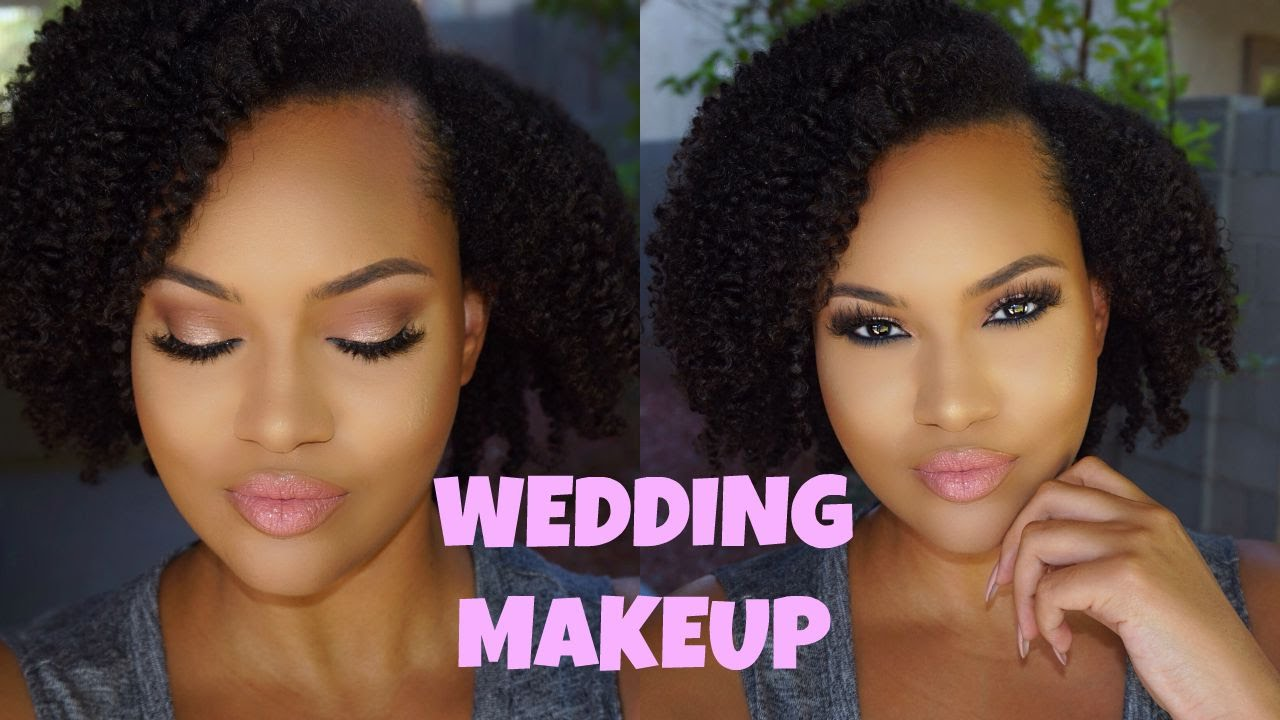 FULL FACE Wedding Makeup Tutorial Shadow Couture Palette ...