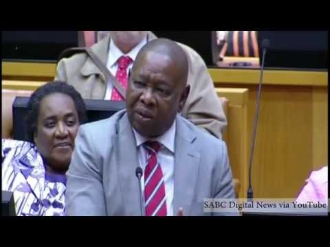 """""""I'm not scared of Blade"""" - Julius Malema and Blade Nzimande clash in Parliament"""