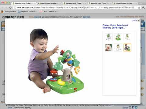 Fisher Price Rainforest Healthy Care High Chair Review