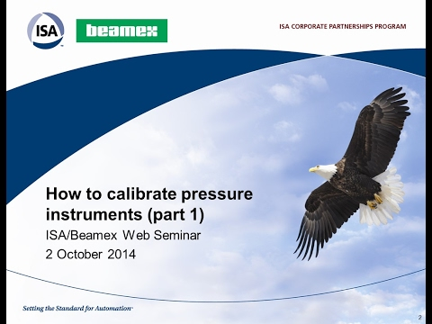 How To Calibrate Pressure Instruments (Part 1)